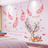 Deer Rabbit Animal Wall Stickers