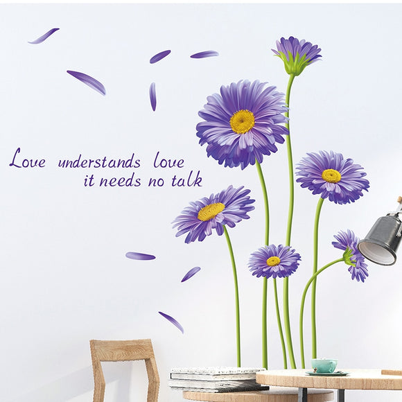 Holland-chrysanthemum Flower Wall Sticker