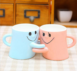 Ceramic Mug Boy and Girl Mug