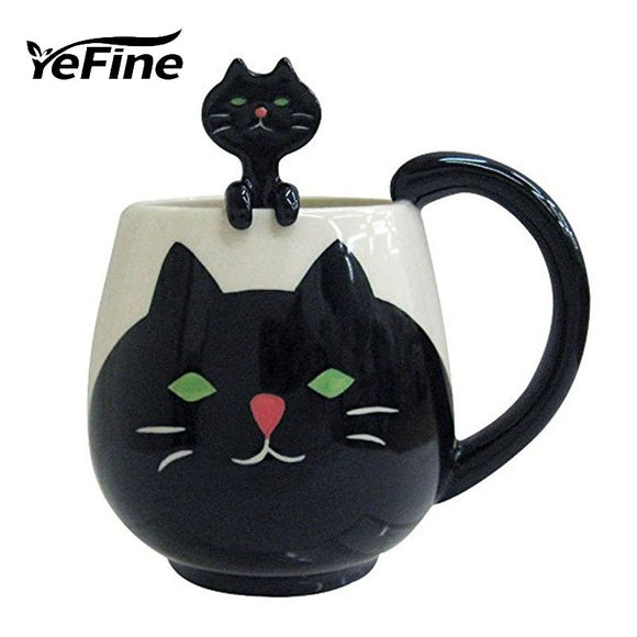 YEFINE Brand Cute Animal Tea Cups Ceramic Cups