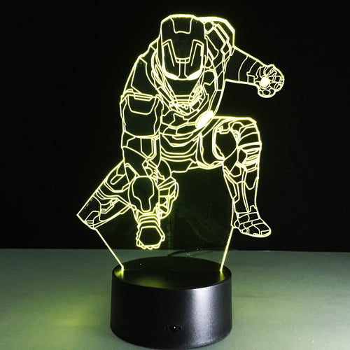 3D Acrylic Iron Man