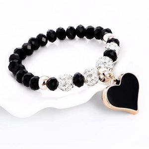 TN Snow Heart Bracelet | 3 Colours