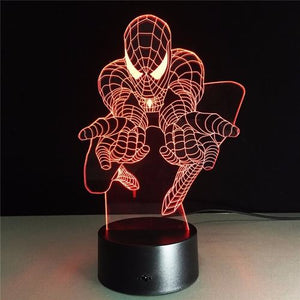 3D Acrylic Spiderman