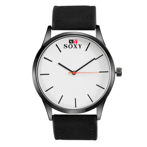 SOXY Leather Band Precise Movement Analog Watch