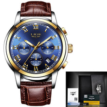 LiGE 9810 Chronograph Watch | 2 Variants