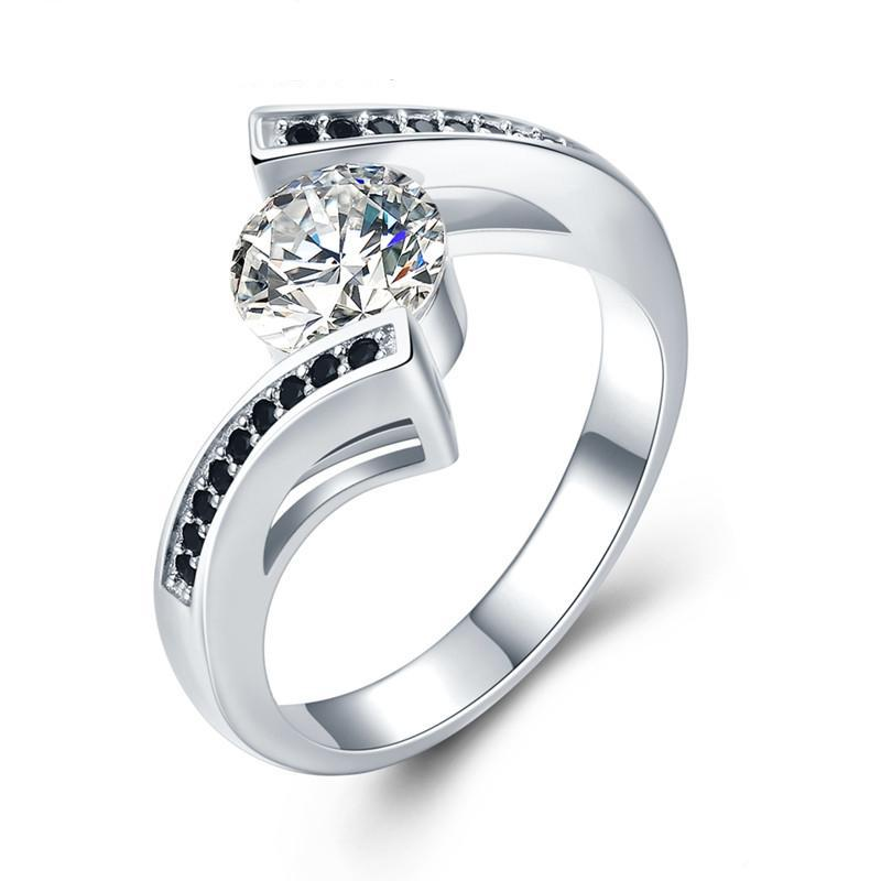 price buy solitaire women silver online for at rings best diamond