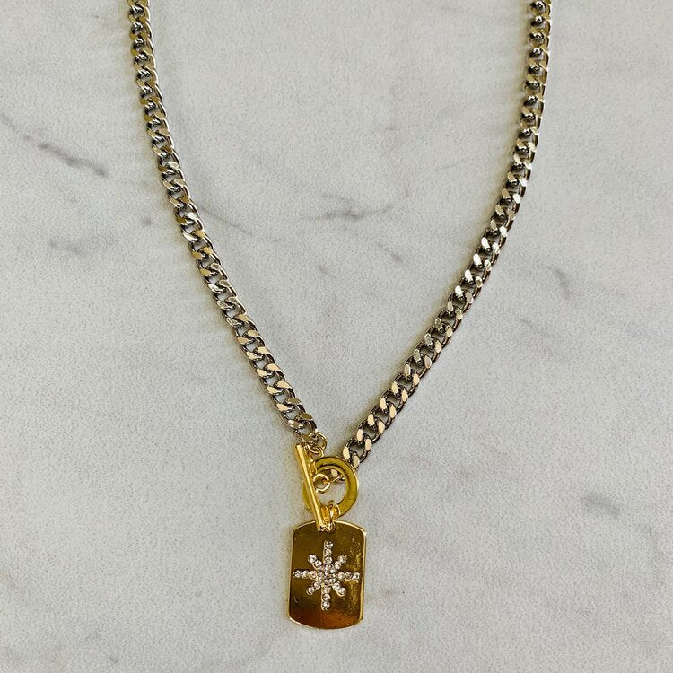 Lone Star Toggle Necklace