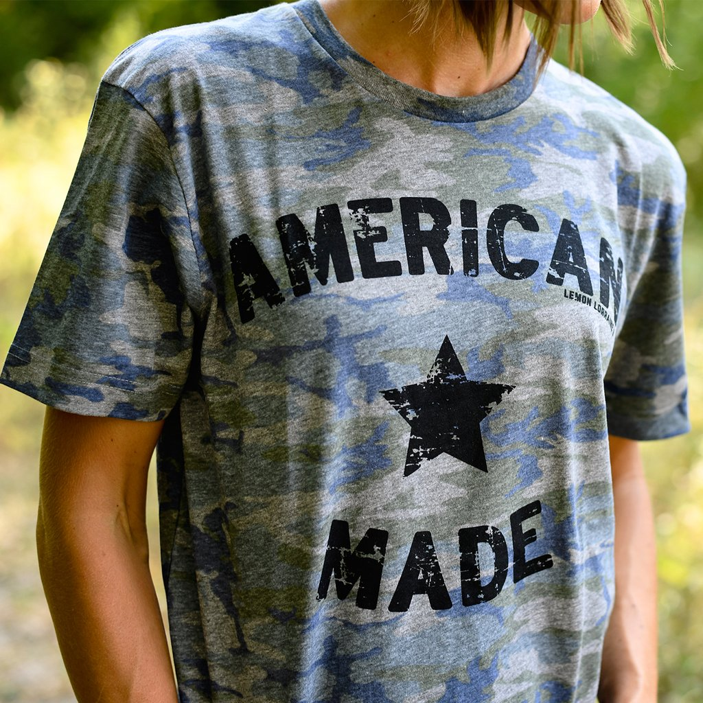 American Made Camo Graphic