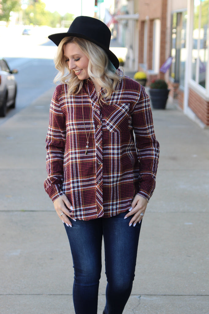 Rearview Town Flannel