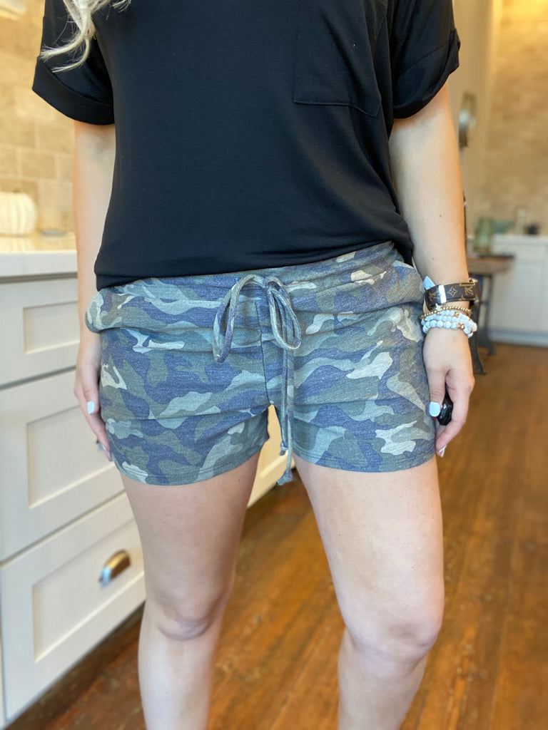 Walk In The Woods Camo Shorts