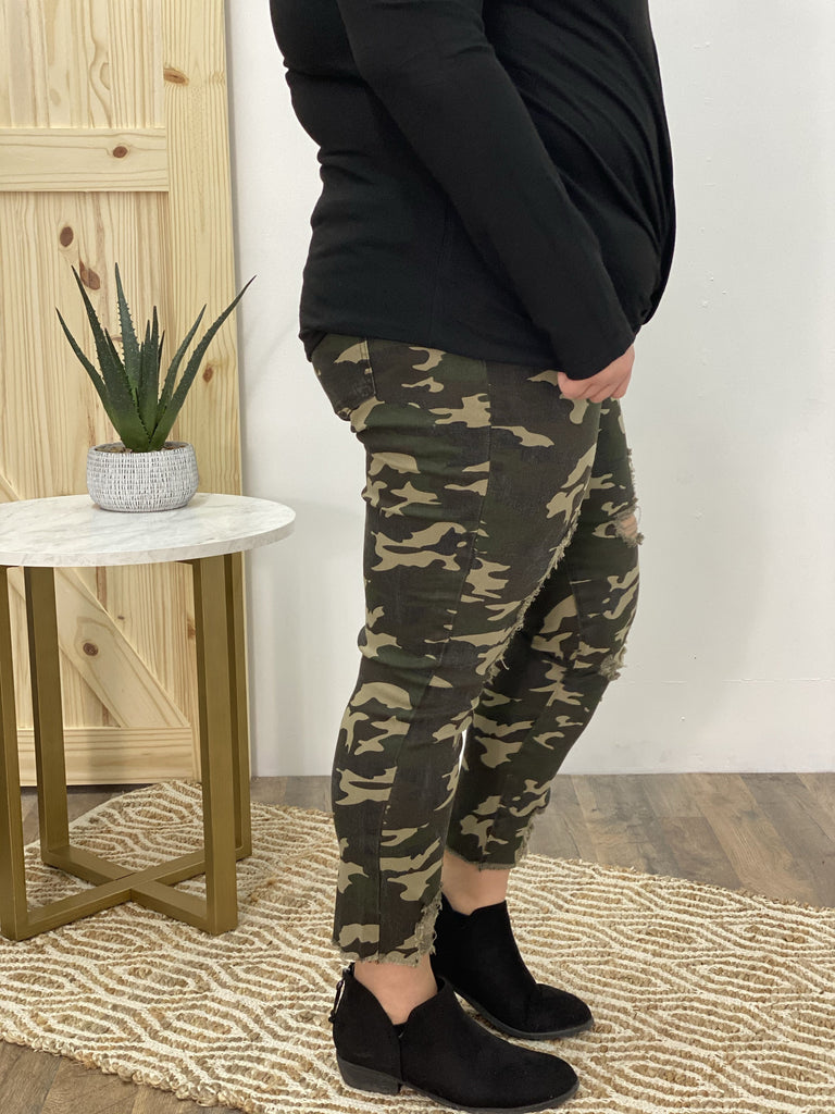 Yours Forever Camouflage Joggers