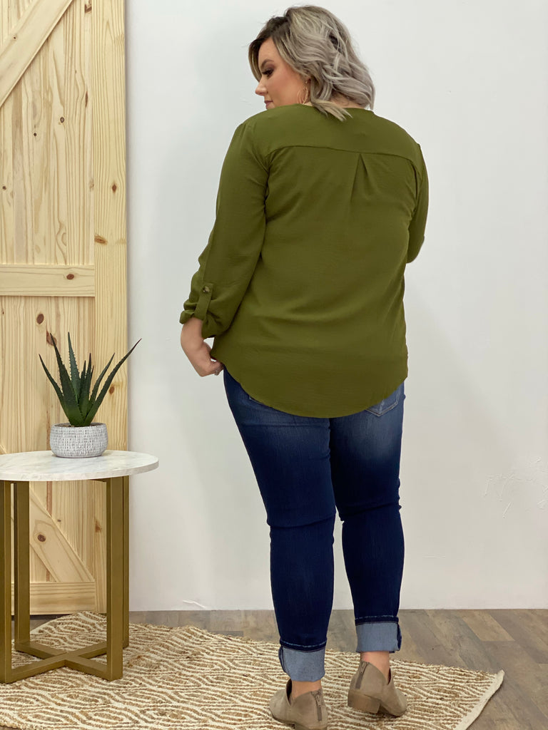 Olive Branch Blouse