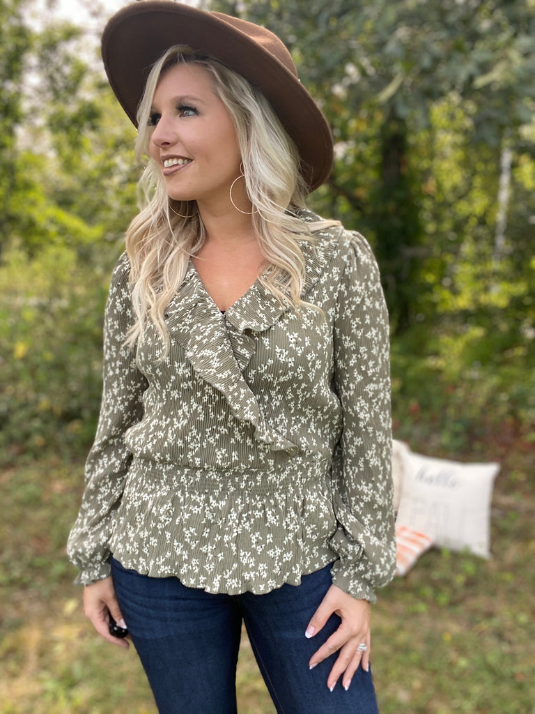 Olive Tree Blouse