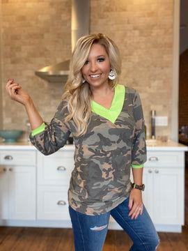 Fight Camouflage Top