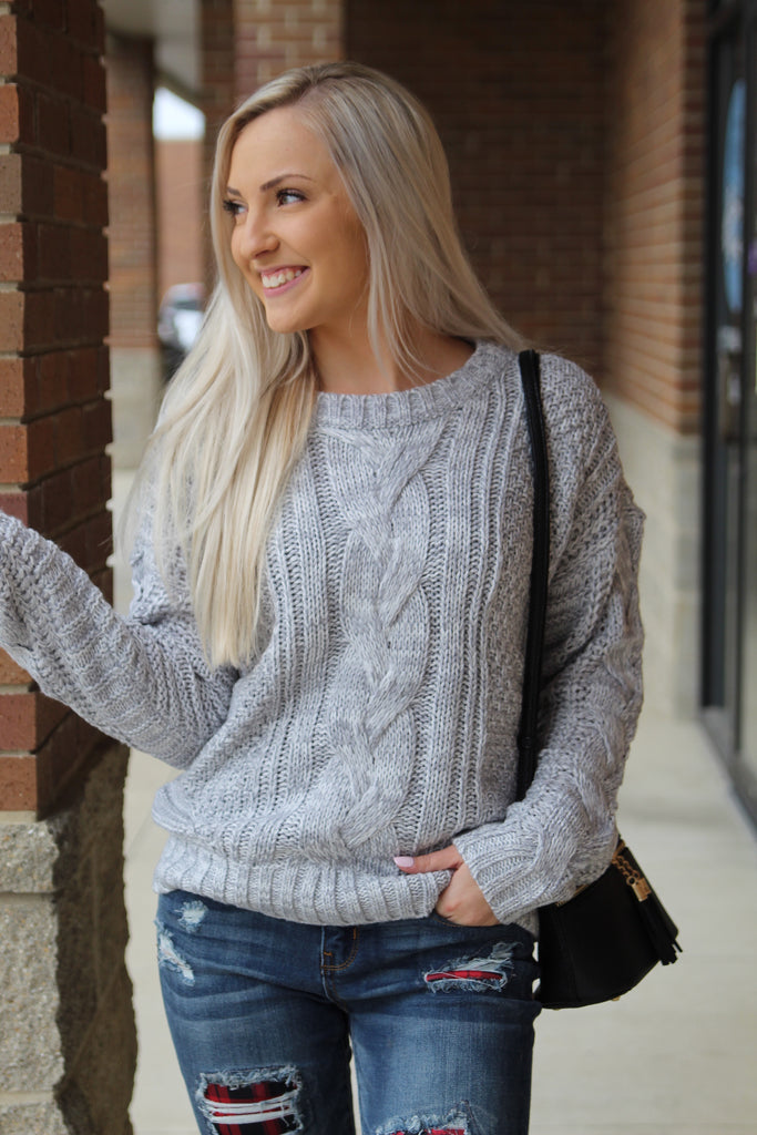 New Day Cable Sweater