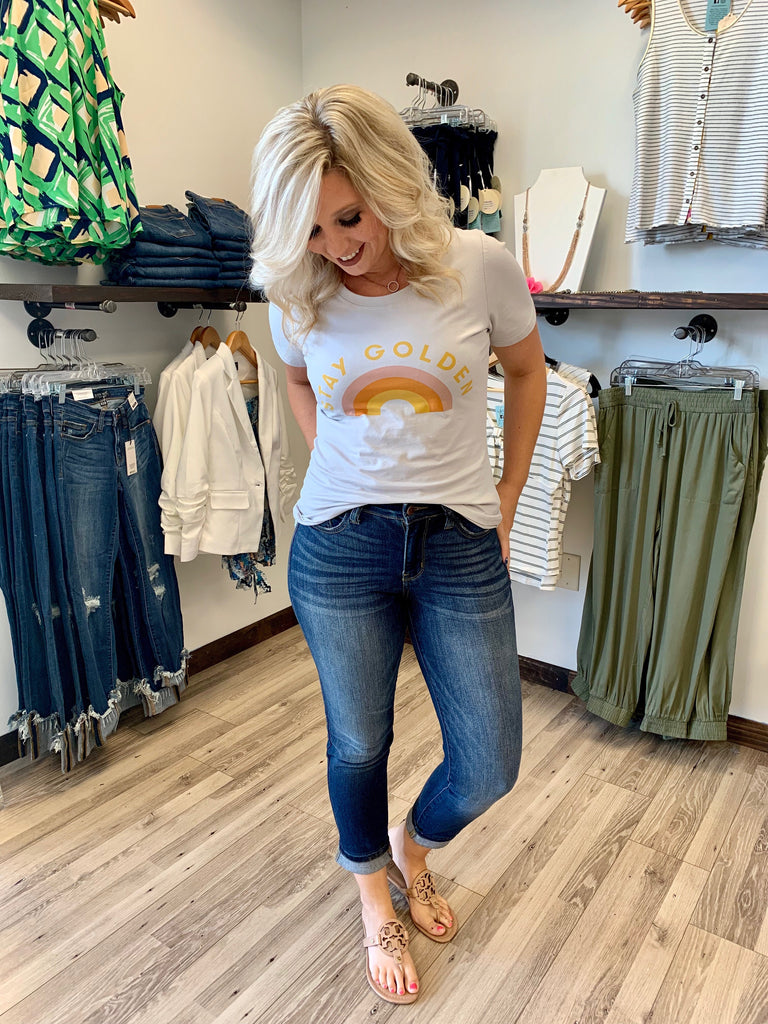 Day Dreaming Non Distressed Jeans