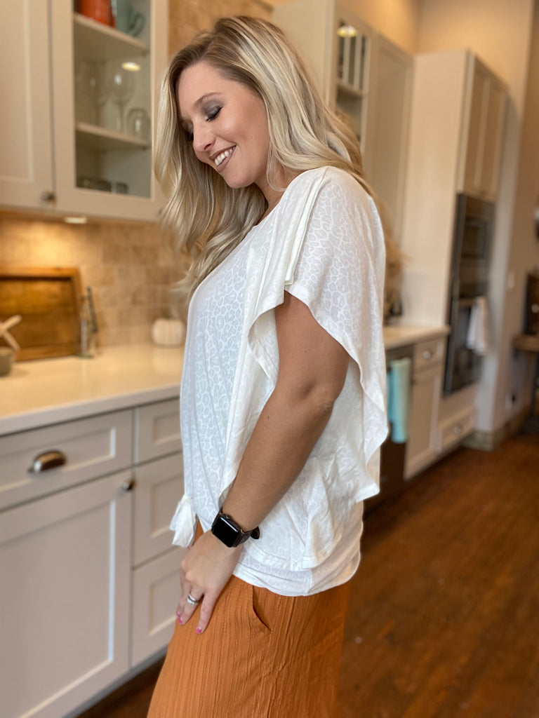 Mississippi Ruffle Blouse