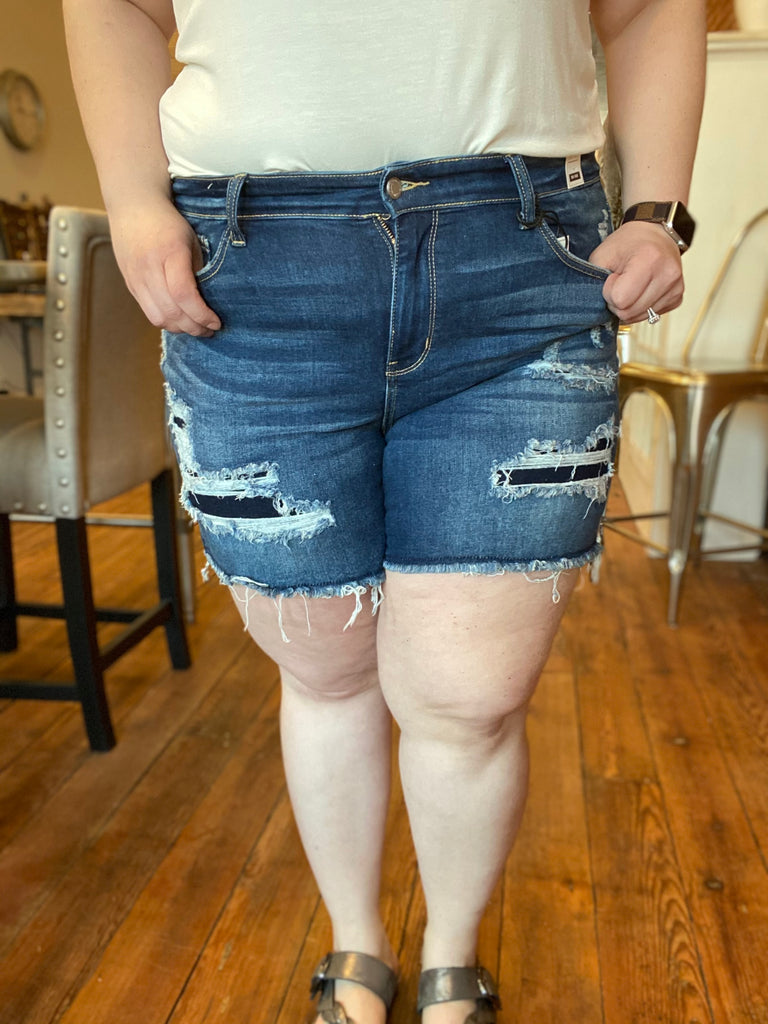 The Mariah Denim in Curvy