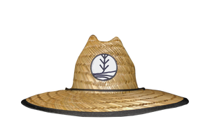 Cast Away - tropii co. Cool straw hat with American flag design under the brim