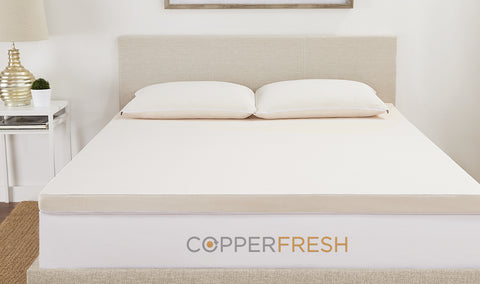"CopperFresh Infused 2"" Zippered Topper Cover"