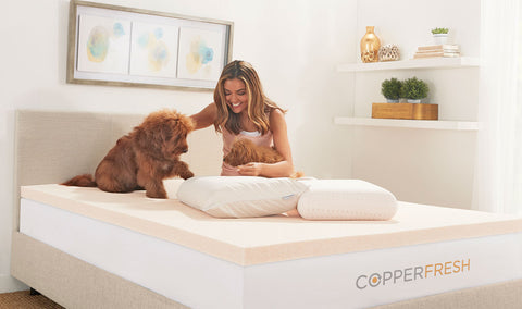 CopperFresh Response Foam Mattress Topper