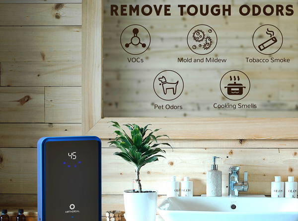remove tough odors and viruses