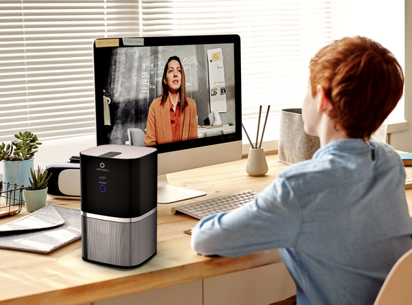 compact and small air purifier for home office
