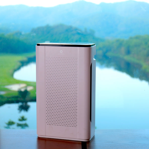 air purifier with UVC for offices