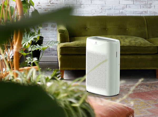 air purifier to improve indoor air quality against wildfire smoke