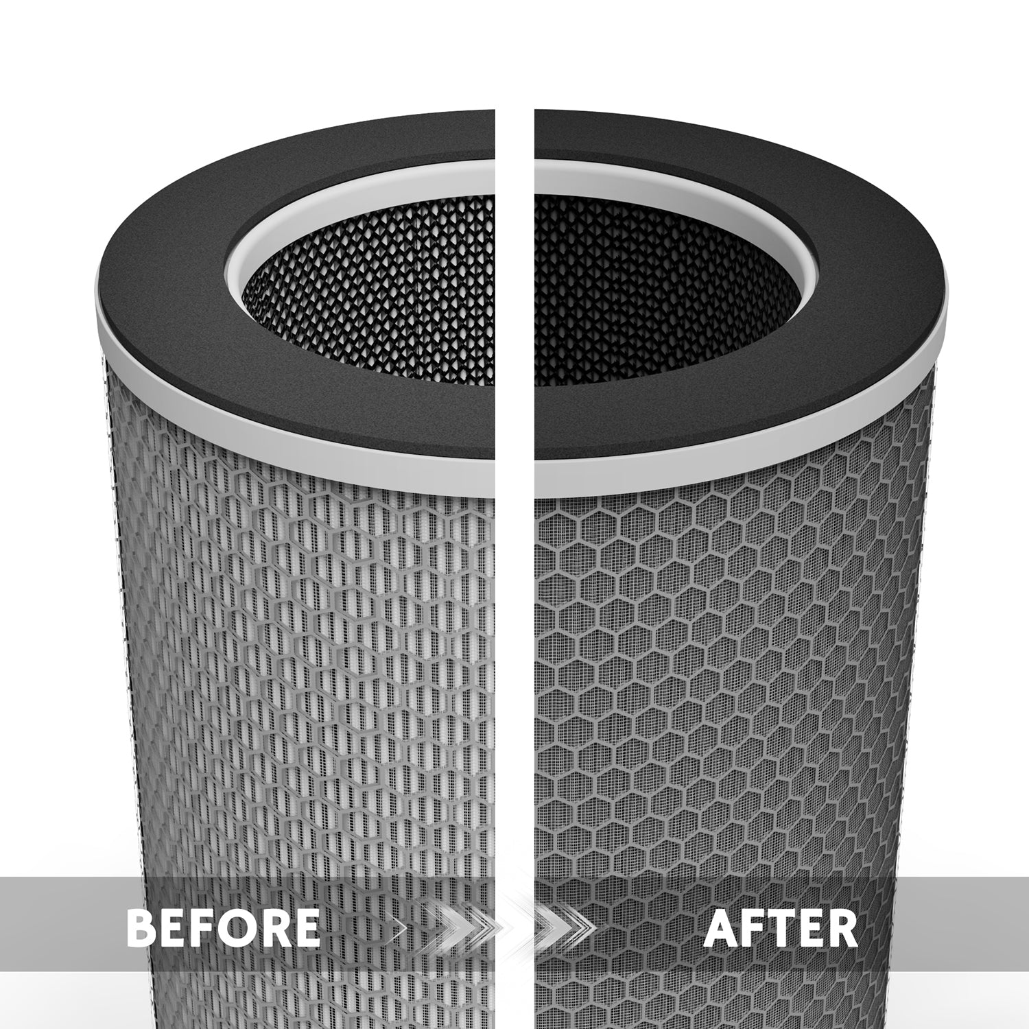 AGH550 True HEPA Air Purifier Replacement Filter Set