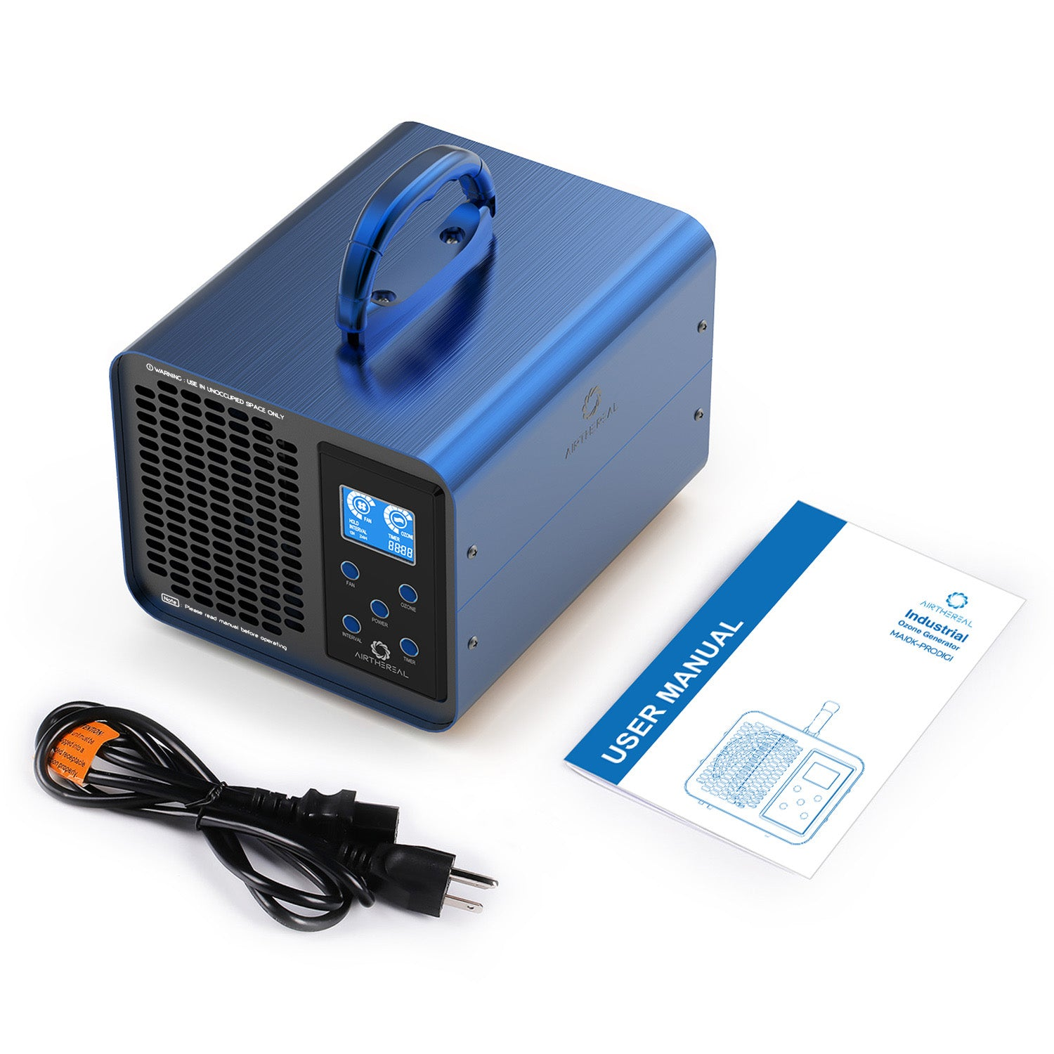 Airthereal MA10K-PRODIGI Ozone Generator for Cars & Home- Powerful Ozone Output - 10,000mg/h