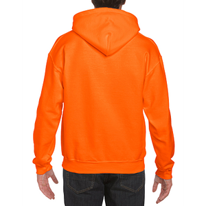 Men's Pullover Hoodie, Safety Colours