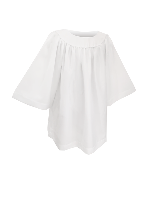 Classic Round Neckline Choir Surplice - Churchings