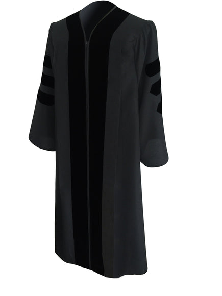 Classic Black Pulpit Robe - Churchings