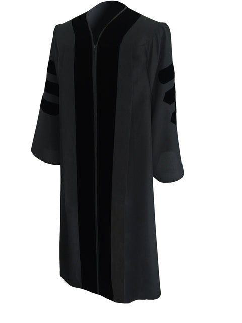 Classic Black Pulpit Robe