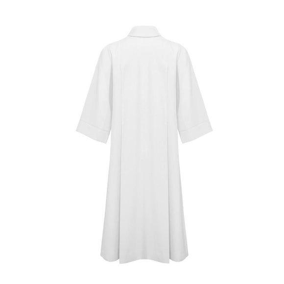 White Choir Cassock - Church Choir Robes - ChoirBuy