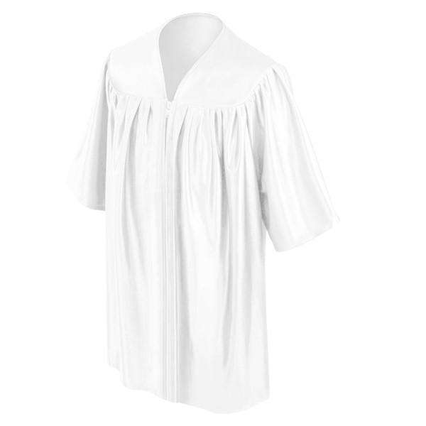 Child's White Choir Robe - Churchings