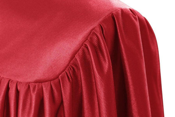 Child's Red Choir Robe - Churchings