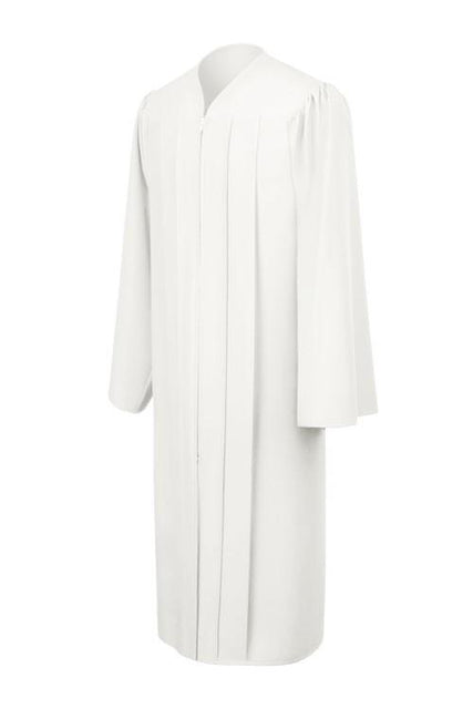 Matte White Choir Robe - Churchings