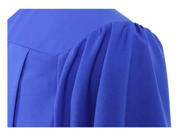 Matte Royal Blue Choir Robe - Churchings