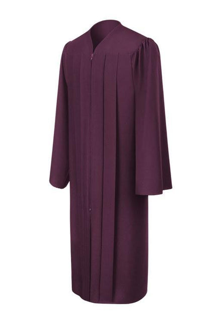 Matte Maroon Choir Robe - Church Choir Robes - ChoirBuy