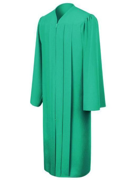 Matte Emerald Green Choir Robe - Churchings