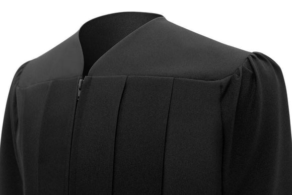 Matte Black Choir Robe - Churchings