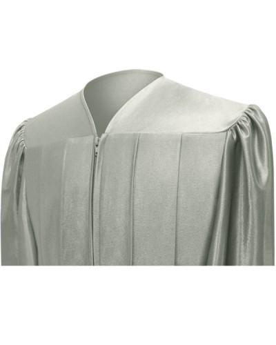 Shiny Silver Choir Robe - Churchings