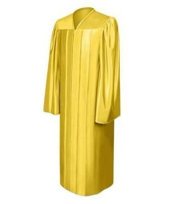 Shiny Gold Choir Robe - Churchings