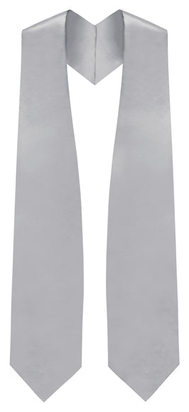 Silver Traditional Choir Stole - Churchings