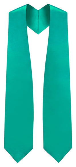 Emerald Green Traditional Choir Stole - Churchings