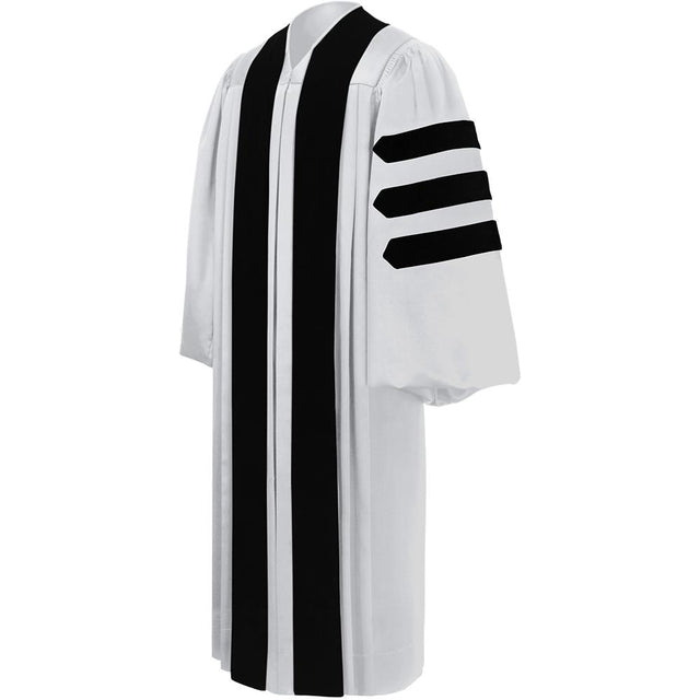 Deluxe White Pulpit Robe - Churchings
