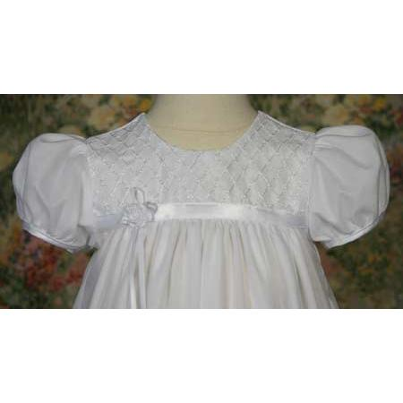 Iris Trico Baptism Gown - Churchings