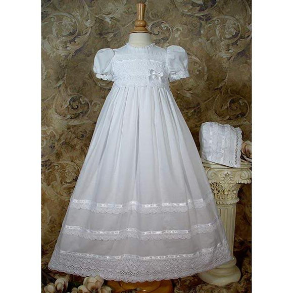 Jana Cotton Baptism Gown - Churchings